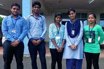 बालाजी इंजीनियरिंग कॉलेज के ,छ: छात्रों का यूनिवर्सिटी स्पोटर््स टीम में चयन