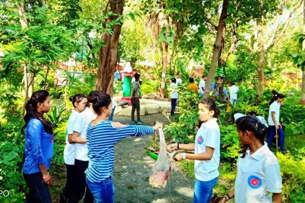 स्व'छता अभियान को युवा अपनी व्यक्तिगत मूहिम बनाएं:डॉ.तिवारी