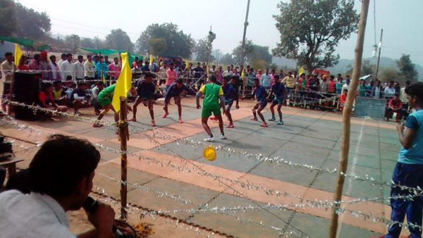 रानीखेड़ा में जिला स्तरीय कबड्डी प्रतियोगिता संपन्न