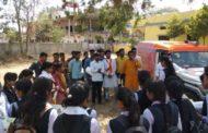 युवा अपने मताधिकारी का प्रयोग अवश्य करें:प्रधान , भारत गौरव यात्रा आठनेर पहुंची