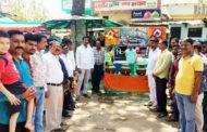 अनिल राठौर ने किया प्याऊ का शुभारंभ , राठौर समाज की 26 इकाईयां लगाएगी प्याऊ